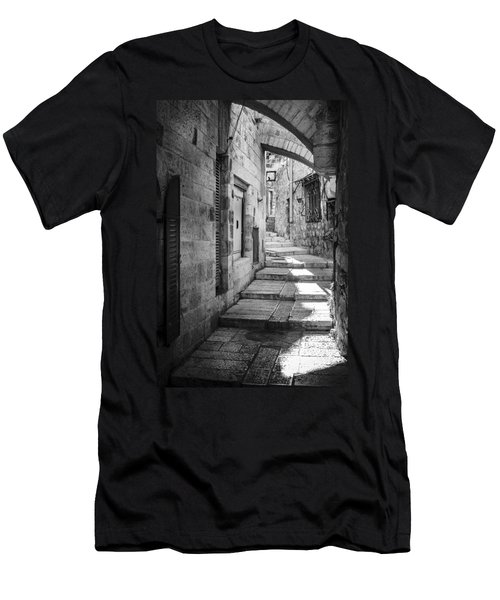 Jerusalem Street Men's T-Shirt (Athletic Fit)