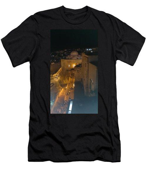 Jerusalem The Old City  Men's T-Shirt (Athletic Fit)