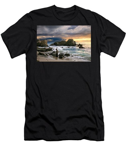 Jesus' Sunset Men's T-Shirt (Athletic Fit)