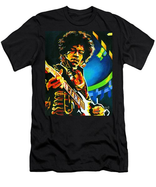 Bold As Love. Jimi Hendrix  Men's T-Shirt (Athletic Fit)