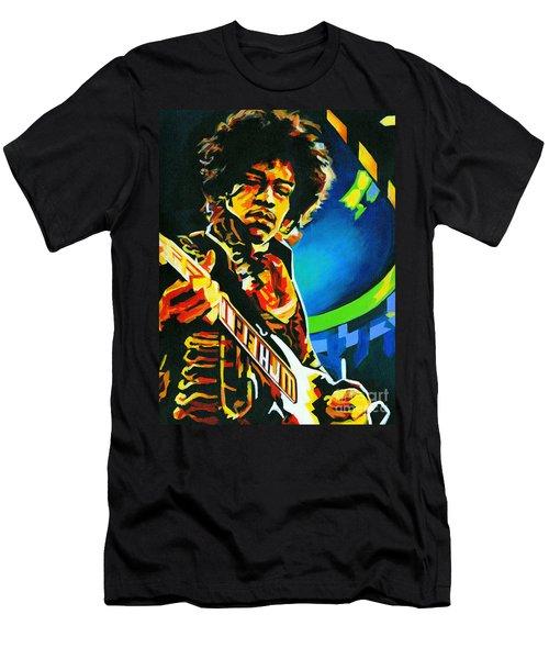 Bold As Love. Jimi Hendrix  Men's T-Shirt (Athletic Fit)
