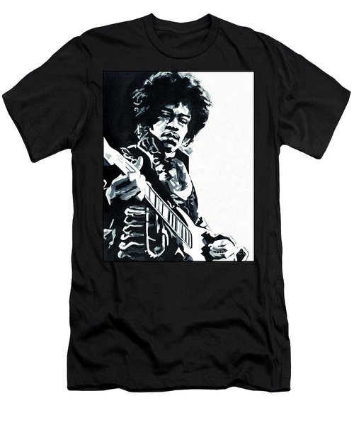 James Marshall Hendrix  Men's T-Shirt (Athletic Fit)