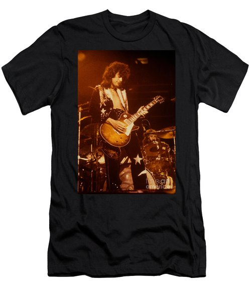 Jimmy Page 1975 Men's T-Shirt (Athletic Fit)
