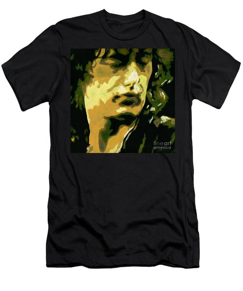 Jimmy Page. Magic Riffs Men's T-Shirt (Athletic Fit)