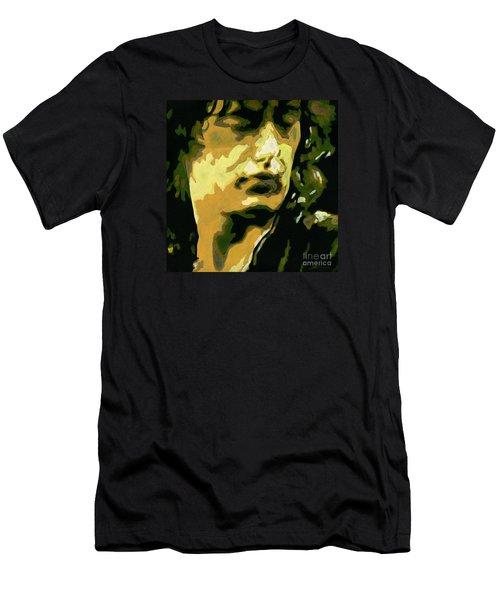 Jimmy Page. Magic Riffs Men's T-Shirt (Athletic Fit)