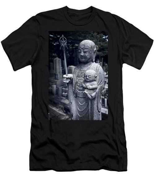 Jizo Bodhisattva Deity Of Kyoto  Men's T-Shirt (Athletic Fit)