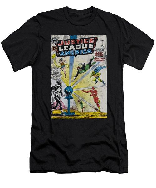Jla - Vintage Cover 12 Men's T-Shirt (Athletic Fit)