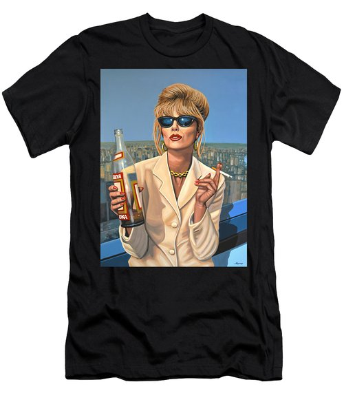 Joanna Lumley As Patsy Stone Men's T-Shirt (Athletic Fit)