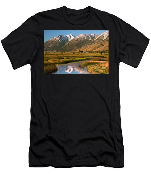 Job's Peak Reflections Men's T-Shirt (Athletic Fit)
