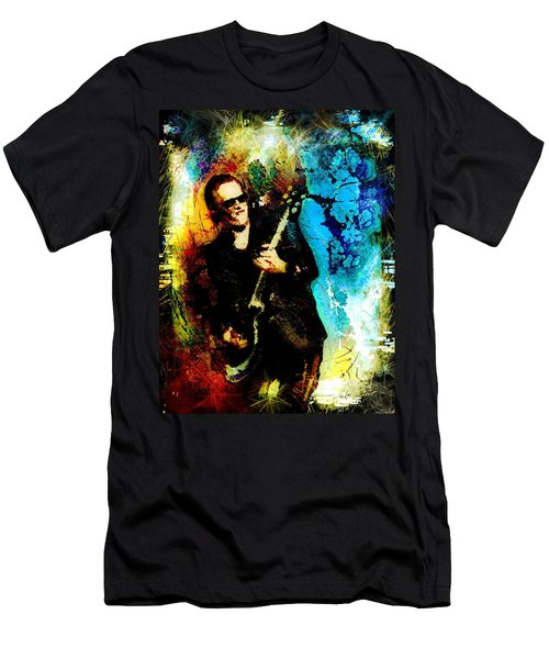 Joe Bonamassa Madness Men's T-Shirt (Athletic Fit)