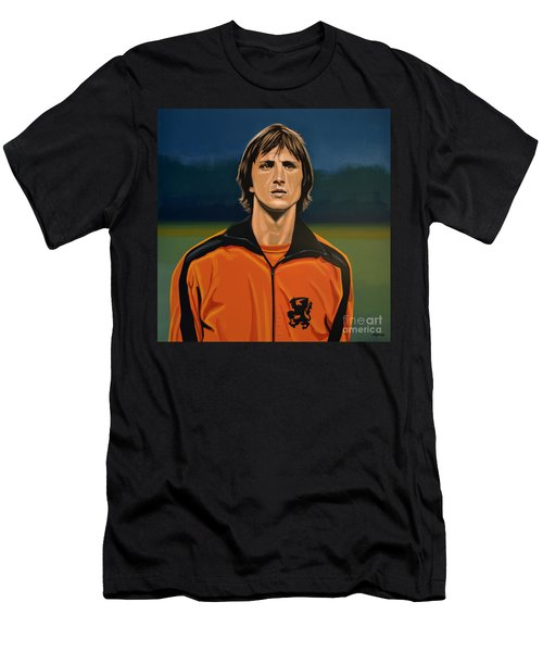 Johan Cruyff Oranje Men's T-Shirt (Athletic Fit)
