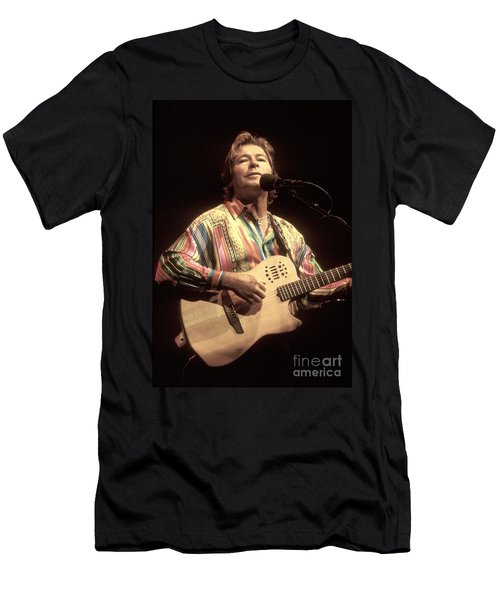 John Denver Men's T-Shirt (Athletic Fit)