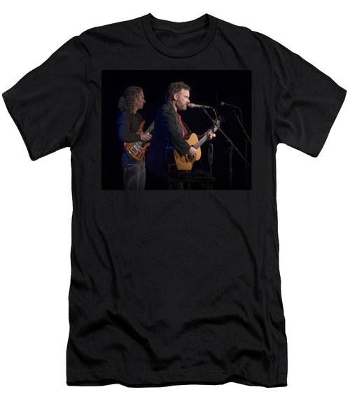 John Gorka And Michael Manring In Concert Men's T-Shirt (Athletic Fit)