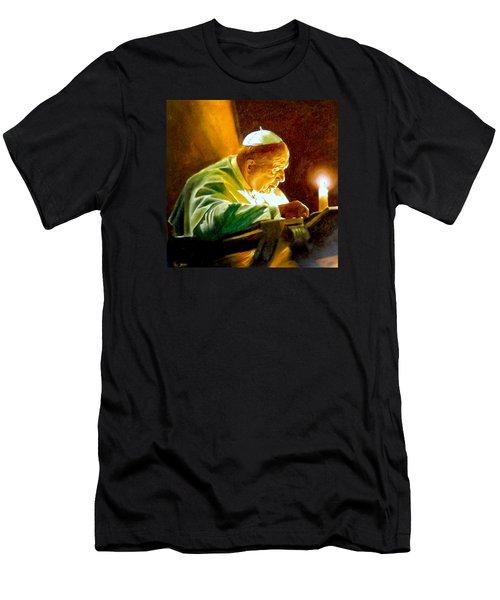 John Paul II Men's T-Shirt (Athletic Fit)