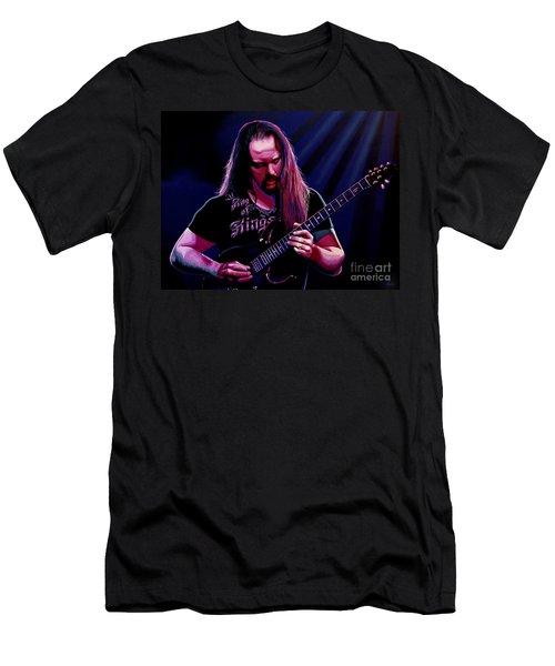 John Petrucci Painting Men's T-Shirt (Athletic Fit)