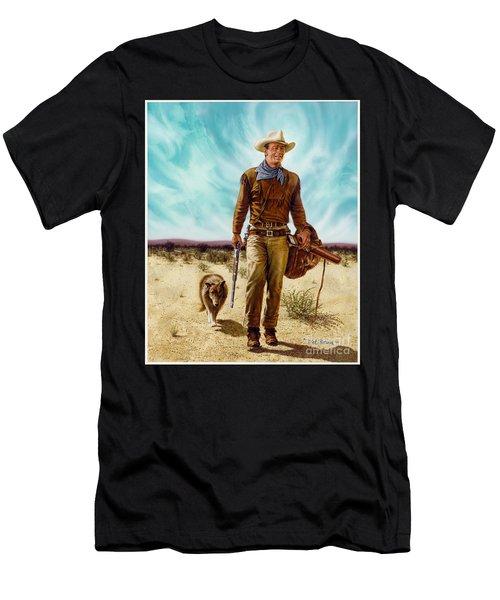 John Wayne Hondo Men's T-Shirt (Athletic Fit)