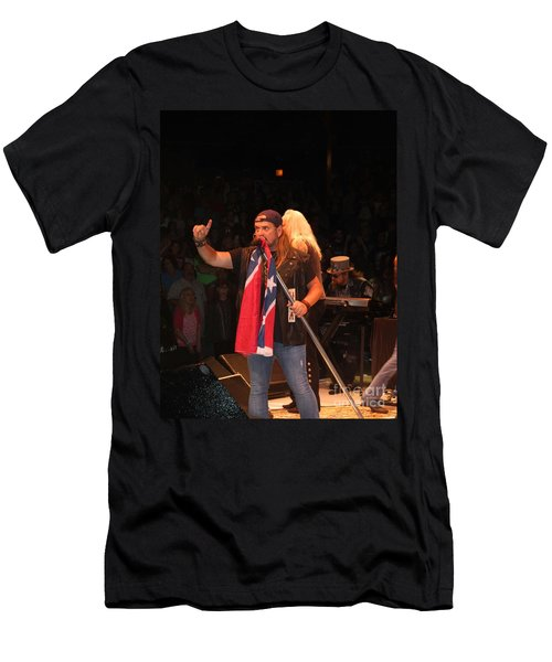 Johnny Van Zant Of Lynyrd Skynyrd Men's T-Shirt (Athletic Fit)