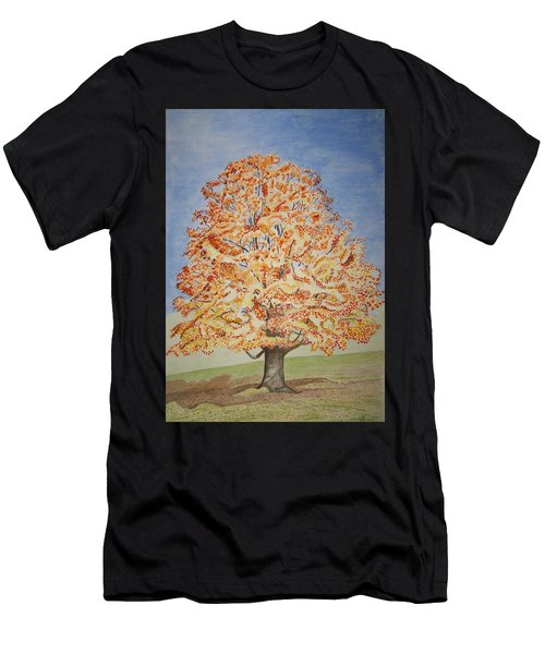 Jolanda's Maple Tree Men's T-Shirt (Athletic Fit)