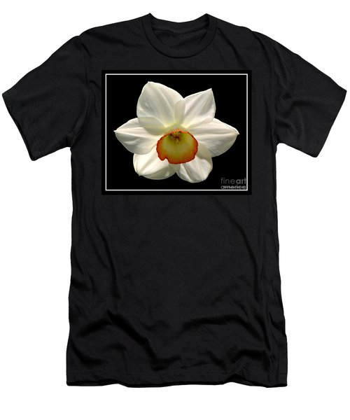 Men's T-Shirt (Slim Fit) featuring the photograph Jonquil 1 by Rose Santuci-Sofranko