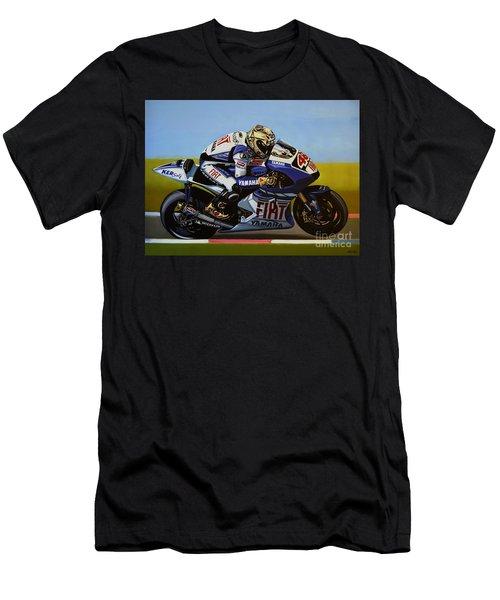 Jorge Lorenzo Men's T-Shirt (Athletic Fit)