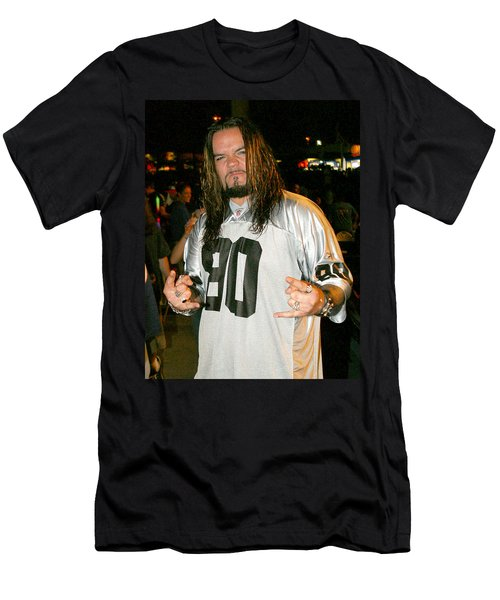 Men's T-Shirt (Slim Fit) featuring the photograph Josey Scott by Don Olea