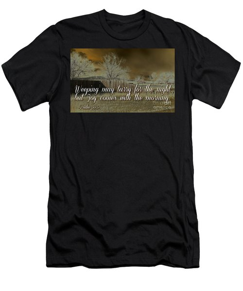 Joy In The Morning Men's T-Shirt (Athletic Fit)