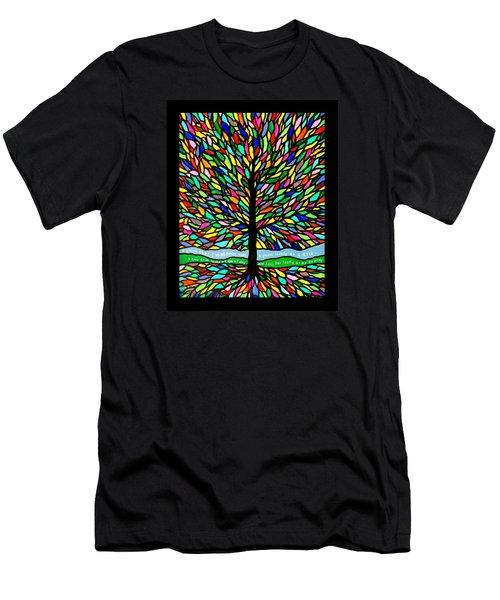 Joyce Kilmer's Tree Men's T-Shirt (Athletic Fit)