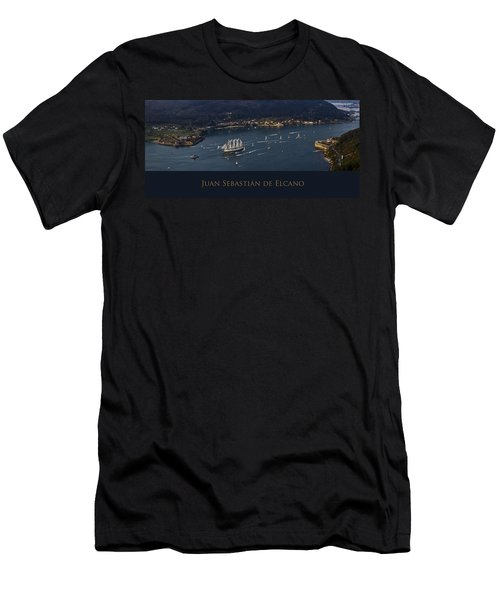 Juan Sebastian Elcano Departing The Port Of Ferrol Men's T-Shirt (Athletic Fit)