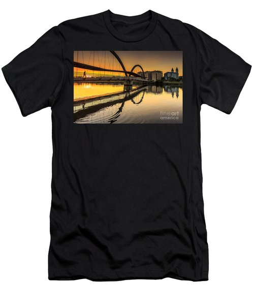 Jubia Bridge Naron Galicia Spain Men's T-Shirt (Athletic Fit)