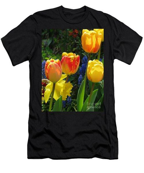 Jubilance Men's T-Shirt (Slim Fit) by Rory Sagner