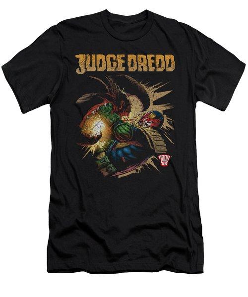 Judge Dredd - Blast Away Men's T-Shirt (Athletic Fit)
