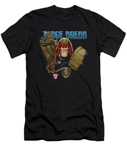 Judge Dredd - Smile Scumbag Men's T-Shirt (Athletic Fit)