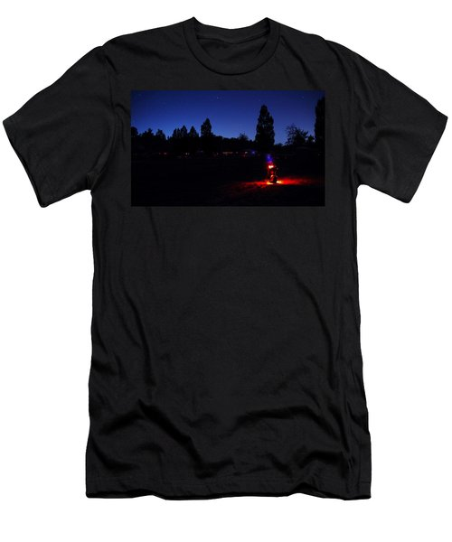 Julian Night Lights 2013 Men's T-Shirt (Athletic Fit)