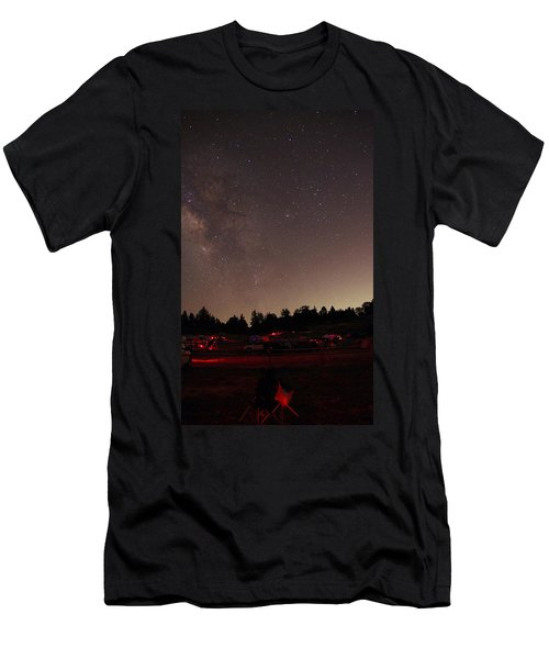 Julian Night Sky Milky Way Men's T-Shirt (Athletic Fit)