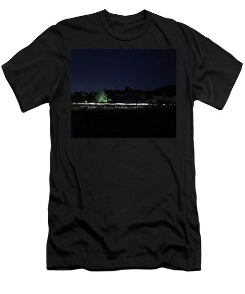 Julian Night Sky Men's T-Shirt (Athletic Fit)