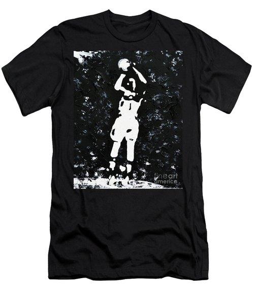 Jump Shot Men's T-Shirt (Athletic Fit)