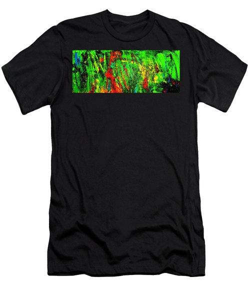 Jungle Beat Men's T-Shirt (Athletic Fit)