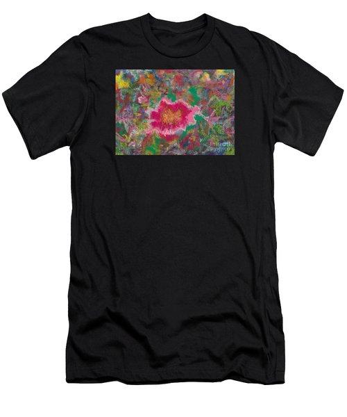 Jungle Flower Men's T-Shirt (Athletic Fit)