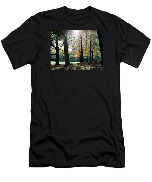 Just A Glimpse Of Sunlight Men's T-Shirt (Slim Fit) by Rita Brown