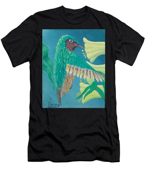 Just A Hummingbird Men's T-Shirt (Athletic Fit)