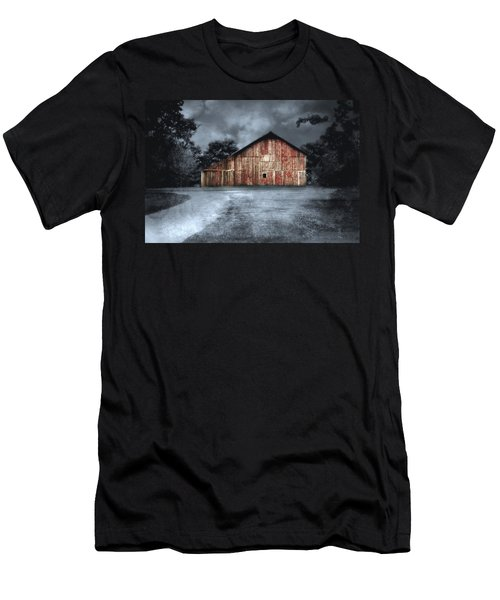 Night Time Barn Men's T-Shirt (Athletic Fit)