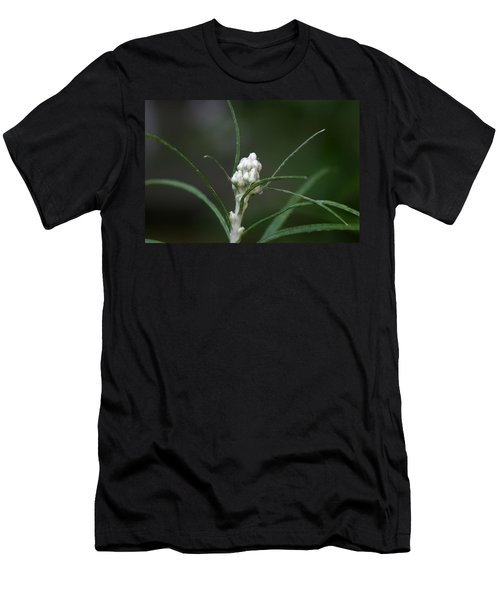 Men's T-Shirt (Slim Fit) featuring the photograph Just Budding by Denyse Duhaime
