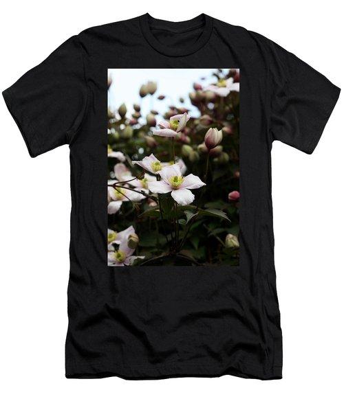 Just Flowers Men's T-Shirt (Athletic Fit)