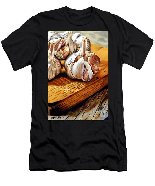 Just Garlic Men's T-Shirt (Athletic Fit)