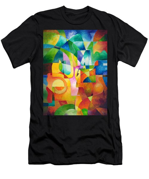 Just Outside Men's T-Shirt (Athletic Fit)