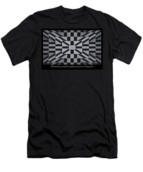 Justice Men's T-Shirt (Athletic Fit)