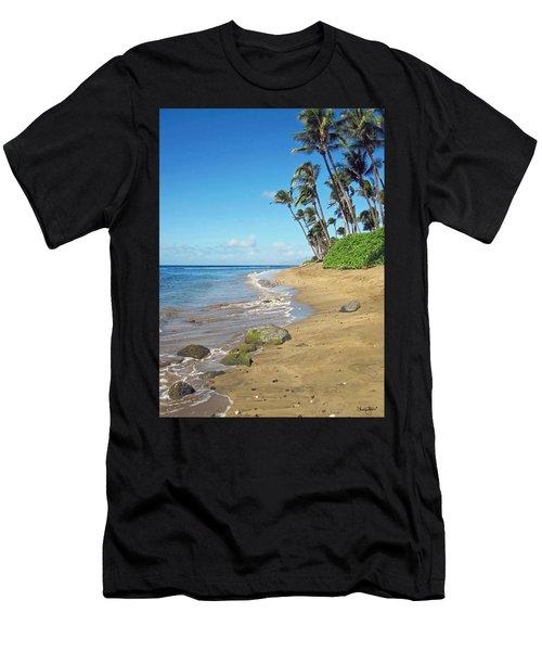 Ka'anapali Beach Men's T-Shirt (Athletic Fit)
