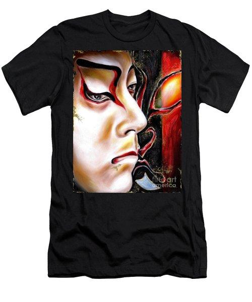 Kabuki Three Men's T-Shirt (Athletic Fit)