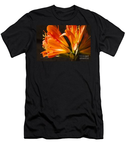 Kaffir Lily Glow Men's T-Shirt (Athletic Fit)