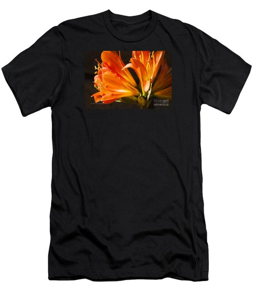 Kaffir Lily Glow Men's T-Shirt (Athletic Fit)